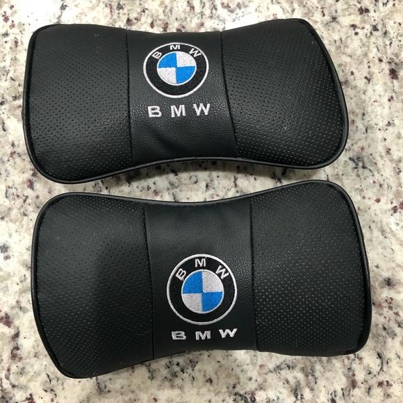 BMW Headrest Pillows x2